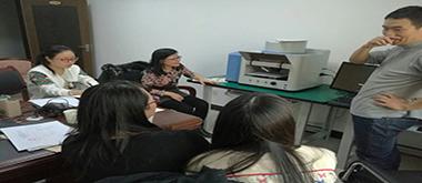 在内蒙古通辽市就朱墨时序仪进行培训